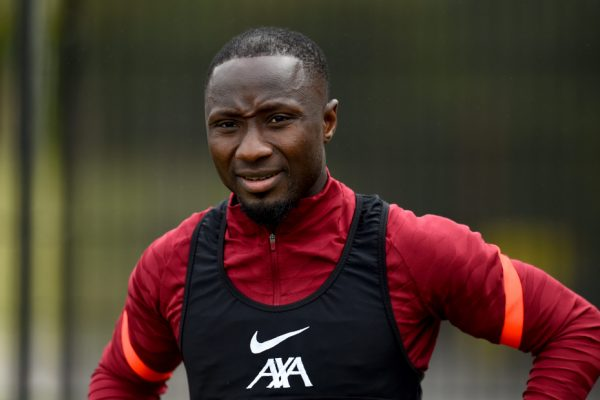 Liverpool cleared Keita on a flight back to Europe